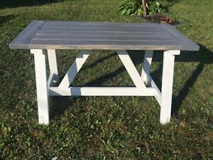 Shabby Chic Harvest Table - Brand New!