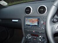 Genuine Audi A3 S3 rs3 8P Rns Navigation Plus System Sat Nav Mmi Gps MP3 Cd Play
