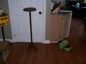43 Inch Tall Wooden Plant Stand