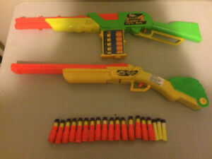 Buzz Bee Toys Air Blasters Nerf Style Guns