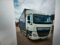 DAF TRUCKS CF250-18 28ft curtain tailift low 318k klms one owner euro 6 NEW ST
