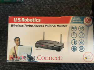 US Robitics Wireless Turbo Access Point & Router