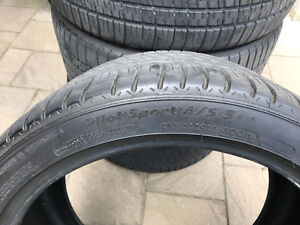 Four Michelin Pilot Sport A/S 3+ (285/35ZR20)