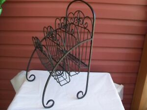 Lovely Wrought Iron Stand--great for towels,magazines,etc