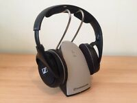 Wireless Sennheiser headphones.
