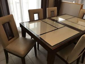 Ensemble de cuisine 6 chaises et buffet