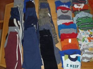 Boys Size 3/3t Fall and Winter Clothing Lot
