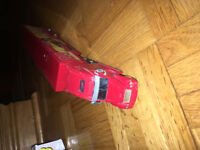 Shell freightliner 1/64 NASCAR tractor trailer and stock car