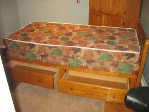 Bed - Single with Mattresses
