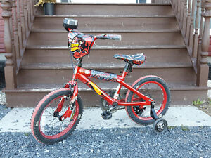 Boys 16'' BMX Hotwheels bike