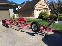 Boat trailer for 23' - 26', EXCELLENT CONDITION - 6000lb rating