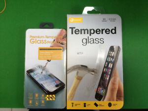 Tempered Protector, Portable Charger and Accessories