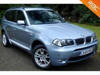 2004 54 BMW X3 2.5 SE 5D AUTO 190 BHP HIGH SPEC!