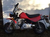 Lifan 70cc 2011 monkey bike