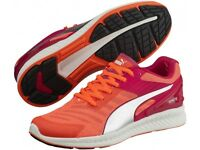 Puma Ladies Ignite V2 Trainers in Red Size 5...£30.00 ...RRP £85.00