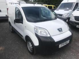 PEUGEOT BIPPER HDI S White Manual Diesel, 2010 10 96000 MILES