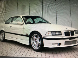 Bmw M3 e36 95-99 Top $ paid, Only Low kms,MINT, No Accidents