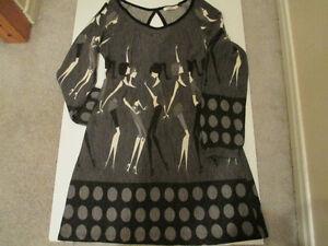 Robe M-L en tricot - Dress