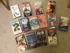 VHS Tapes selection of titles adult and children Kitchener / Waterloo Kitchener Area image 1