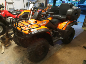 Honda fourtrax 350 2002 4x4
