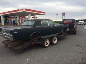 67 lincoln continental suicide doors