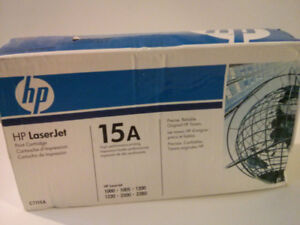 Brand New HP 15A C7115A Genuine Laser Toner Cartridge