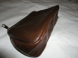 Brand new lancome brown leather pouch purse London Ontario image 5