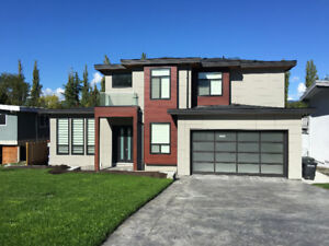 Furnished Modern 2br Suite in New House Central Burnaby
