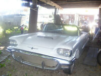 1960 Thunderbird and Parts Cars FOR SALE