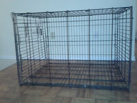 LARGE METAL CAGE FOR DOG, CAT, RABBIT