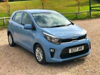 2017 Kia Picanto 1.0 2 5dr ONLY 150 MILES FROM NEW USED FOR A WEEK & THEN UNUSED