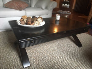 Magnussen Bali Coffee table AND Bali side lamp table