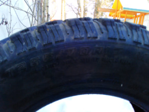 4 studded m&s tires
