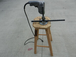 Drill & Jig For Drilling Holes Centre Of Round Shafts Or Tubing Prince George British Columbia image 1