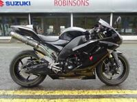 2007 57 KAWASAKI ZX10R IN BLACK LOADED WITH EXTRAS