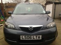 06 MODEL MAZDA 2 MANUAL 1.4 LONG MOT EXCELLENT CONDITION DRIVE SPOT ON