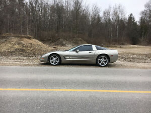 Looking to trade my Corvette on lot or land