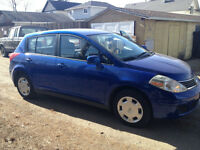 2010 Nissan Versa Base Hatchback  55949K