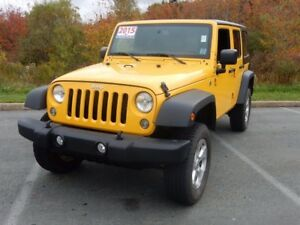 2015 Jeep WRANGLER SPORT!! FRESH TRADE IN!! WOW!