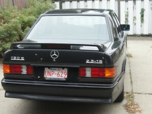 Rare collectors 1986 Mercedes 190E 2.3-16 Cosworth engine