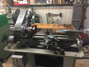 Myford super 7 metal Lathe made in England