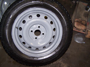 Honda 15 inch Rims with tires ( 4 x 100 )