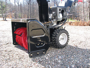 "33""craftsman 357cc large dual stage snowblower / brand new"