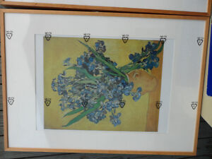 Large Vincent Van Gogh Prints Framed, $90 each. Both for $150. Prince George British Columbia image 4