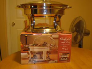 TWO CHAFING DISCH FOR SALE