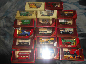 17 matchbox models of yesteryear diecast