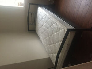 Twin Bed ( mattress and frame )
