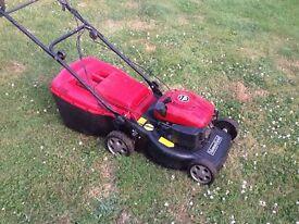 Self propelled mount field mower