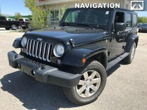 2018 Jeep Wrangler Unlimited Sahara 4x4  - Leather Seats - $289.
