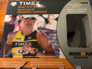 Timex Heart Rate Monitor and watch.